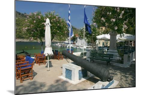 Waterfront, Assos, Kefalonia, Greece-Peter Thompson-Mounted Photographic Print