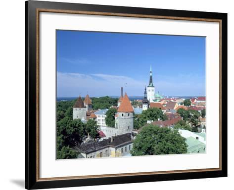 St Olavs Church, Tallinn, Estonia-Peter Thompson-Framed Art Print