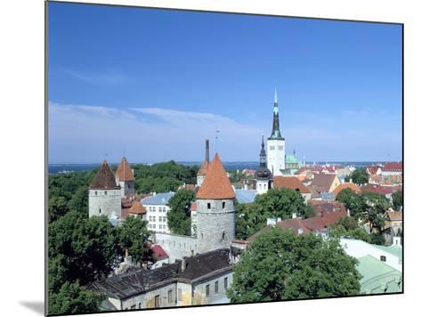 St Olavs Church, Tallinn, Estonia-Peter Thompson-Mounted Photographic Print