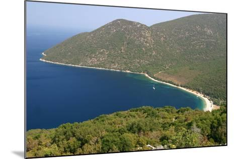 Antisamos (Captain Corellis Beach), Kefalonia, Greece-Peter Thompson-Mounted Photographic Print