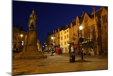 Market Place at Night, Durham-Peter Thompson-Mounted Photographic Print