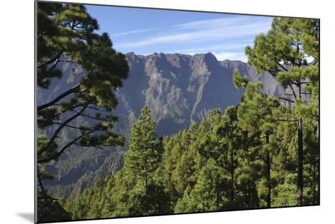 Parque Nacional De La Caldera De Taburiente, La Palma, Canary Islands, Spain, 2009-Peter Thompson-Mounted Photographic Print