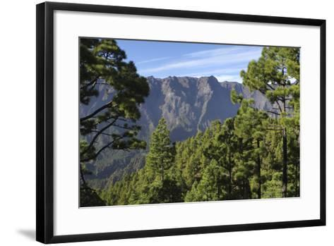 Parque Nacional De La Caldera De Taburiente, La Palma, Canary Islands, Spain, 2009-Peter Thompson-Framed Art Print