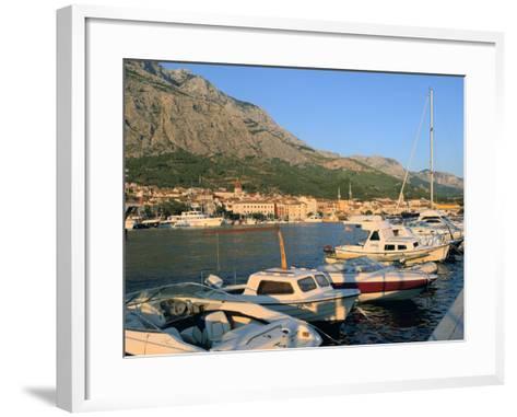Makarska and the Biokovo Mountain, Croatia-Peter Thompson-Framed Art Print