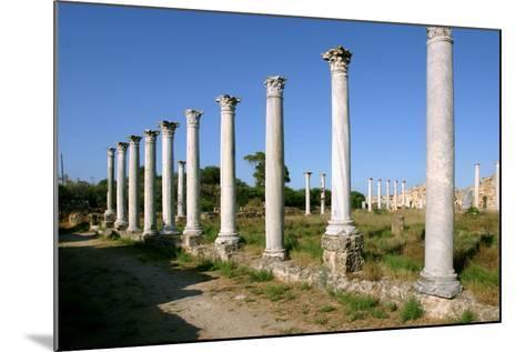 Roman Columns, Salamis, North Cyprus-Peter Thompson-Mounted Photographic Print