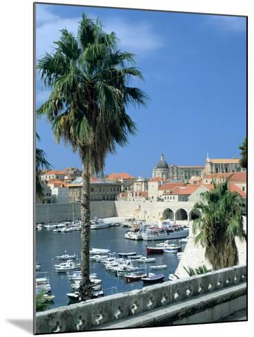 Old Harbour, Dubrovnik, Croatia-Peter Thompson-Mounted Photographic Print