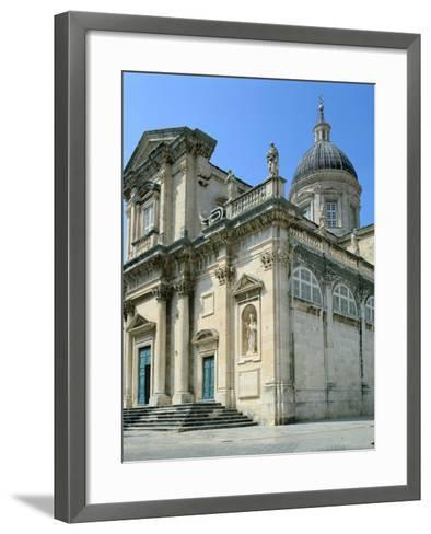Dubrovnik Cathedral, Croatia-Peter Thompson-Framed Art Print