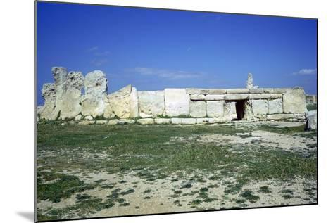 Hagar Qim Temple on Malta. (C.3000 BC)-CM Dixon-Mounted Photographic Print