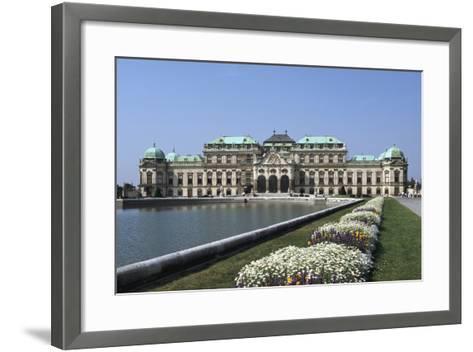 Belvedere Palace, Vienna, Austria-Peter Thompson-Framed Art Print