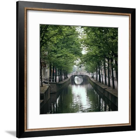 Canal in Oude, Delft-CM Dixon-Framed Art Print
