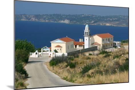Monastery of Sissia, Kefalonia, Greece-Peter Thompson-Mounted Photographic Print