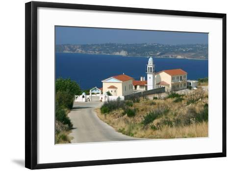 Monastery of Sissia, Kefalonia, Greece-Peter Thompson-Framed Art Print