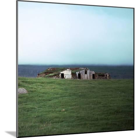 Old Viking-Style Icelandic Turf Farm-CM Dixon-Mounted Photographic Print
