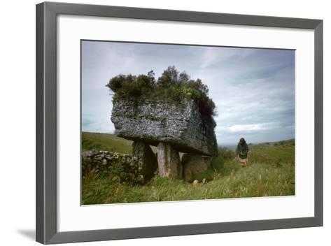 Portal-Grave known as the Lobby-CM Dixon-Framed Art Print