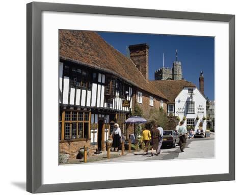 Village Square, Chilham, Kent-Peter Thompson-Framed Art Print