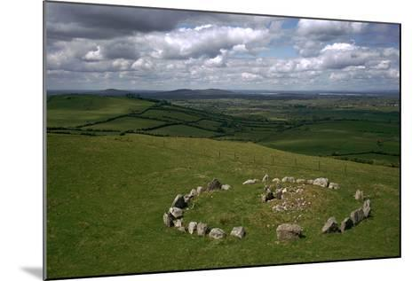 View of Cairn S in the Loughcrew Hills-CM Dixon-Mounted Photographic Print