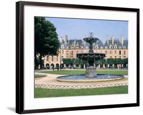 Place Des Vosges, Paris, France-Peter Thompson-Framed Art Print