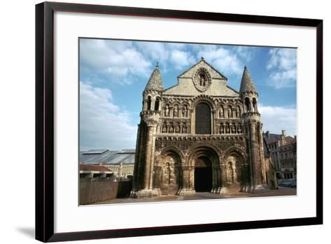 West Front of Notre Dame, 12th Century-CM Dixon-Framed Art Print