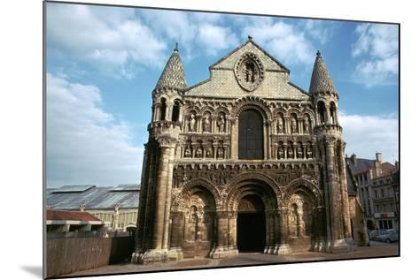 West Front of Notre Dame, 12th Century-CM Dixon-Mounted Photographic Print