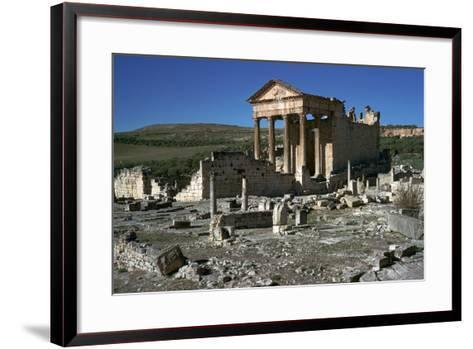 Capitol of Dougga, 2nd Century-CM Dixon-Framed Art Print