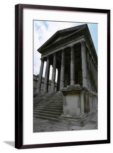 Maison Carree, the Only Intact Roman Temple, 1st Century Bc-CM Dixon-Framed Art Print
