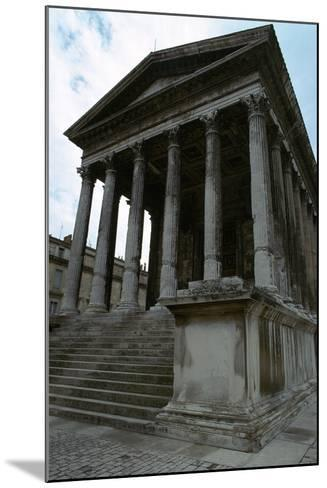 Maison Carree, the Only Intact Roman Temple, 1st Century Bc-CM Dixon-Mounted Photographic Print