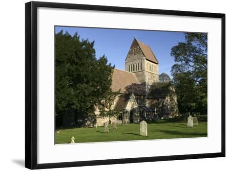 Church of St Lawrence, Castle Rising, Kings Lynn, Norfolk, 2005-Peter Thompson-Framed Art Print