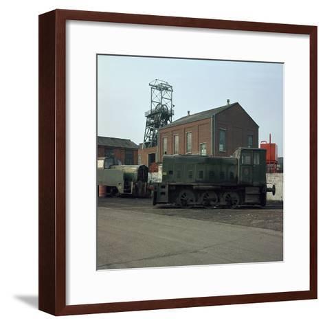 Ormonde Colliery, 1920S-CM Dixon-Framed Art Print