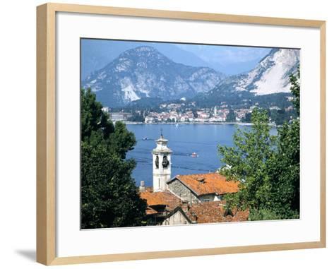 Lake Maggiore, Italy-Peter Thompson-Framed Art Print
