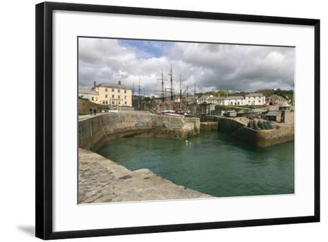 Charlestown, Cornwall-Peter Thompson-Framed Art Print