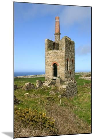Higher Bal Mine Engine House, Cornwall-Peter Thompson-Mounted Photographic Print