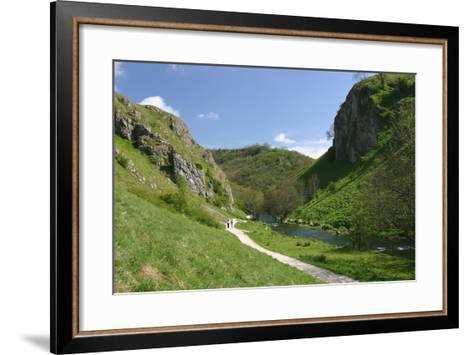 Dovedale, Derbyshire-Peter Thompson-Framed Art Print