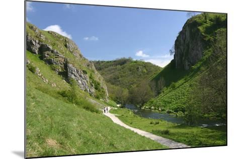 Dovedale, Derbyshire-Peter Thompson-Mounted Photographic Print