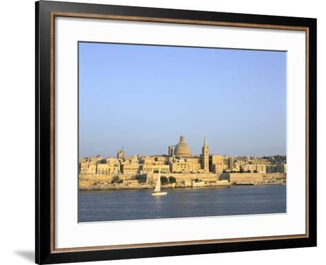 Valletta, Viewed from Sliema, Malta-Peter Thompson-Framed Art Print
