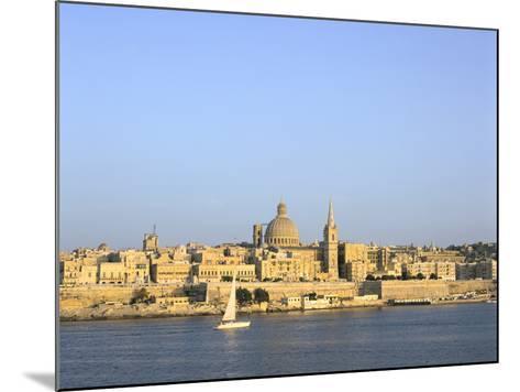 Valletta, Viewed from Sliema, Malta-Peter Thompson-Mounted Photographic Print