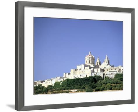 Mdina, Malta-Peter Thompson-Framed Art Print