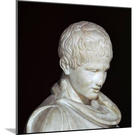 Hellenistic Marble Statue of a Young Athlete from Aydin, 1st Century Bc-CM Dixon-Mounted Photographic Print