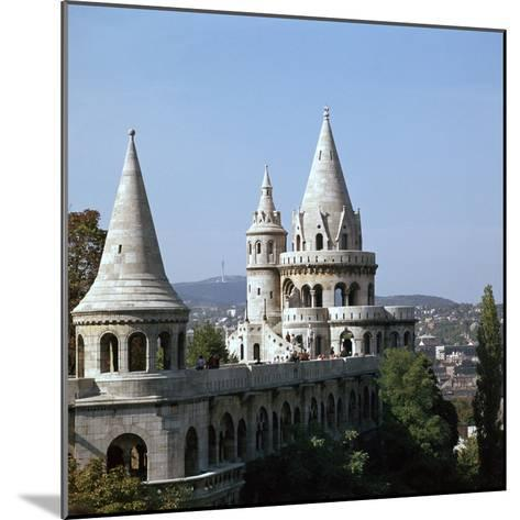 The Fishermans Bastion on Castle Hill in Budapest-CM Dixon-Mounted Photographic Print