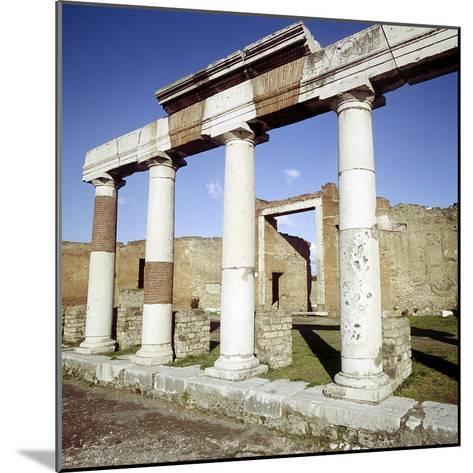 Columns of the Colonnade Round the Forum, Pompeii, Italy-CM Dixon-Mounted Photographic Print