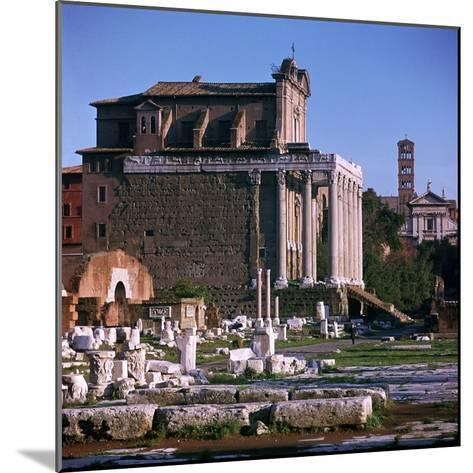 Temple of Antoninus and Faustina-CM Dixon-Mounted Photographic Print