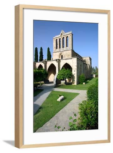 Bellapais Abbey, North Cyprus-Peter Thompson-Framed Art Print