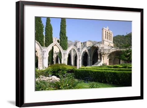 Bellapais Abbey, North Cyprus-Peter Thompson-Framed Art Print