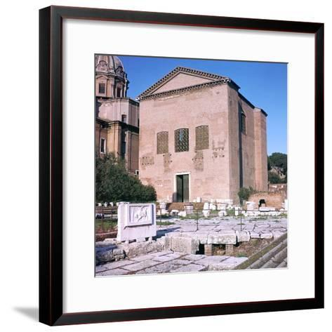 Curia of Diocletian, 1st Century Bc-CM Dixon-Framed Art Print