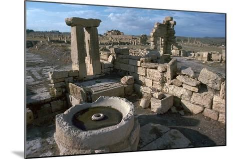 Roman Olive Presses in the City of Sufetula-CM Dixon-Mounted Photographic Print