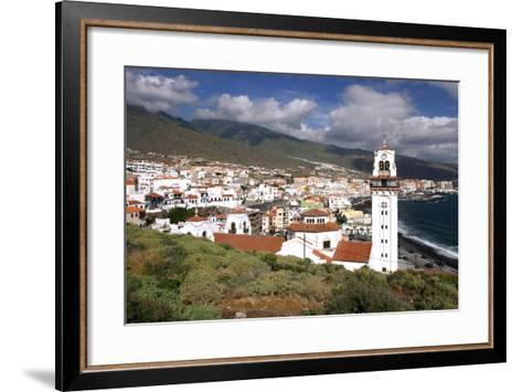 Church and Bay, Candelaria, Tenerife, 2007-Peter Thompson-Framed Art Print