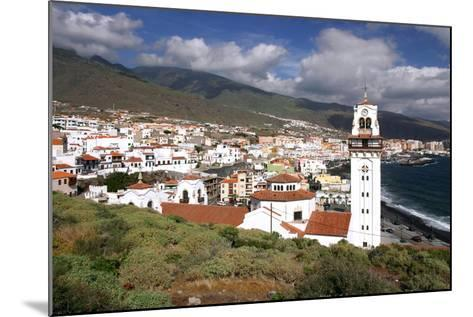Church and Bay, Candelaria, Tenerife, 2007-Peter Thompson-Mounted Photographic Print