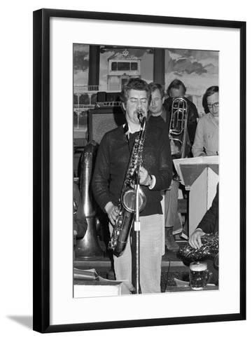 Dave Gelly, Lord Napier Thornton Heath, 1980-Brian O'Connor-Framed Art Print
