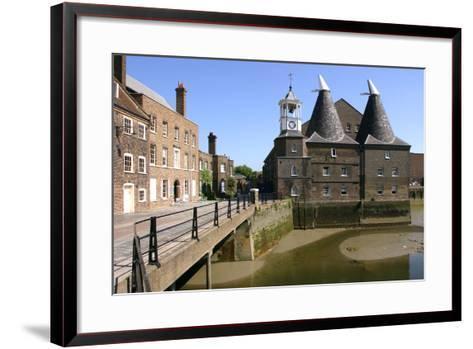 Three Mills, Lea Valley, London-Peter Thompson-Framed Art Print