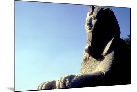 Alabaster Sphinx, Memphis, Egypt, 18th or 19th Dynasty, C14th-13th Century Bc-CM Dixon-Mounted Photographic Print