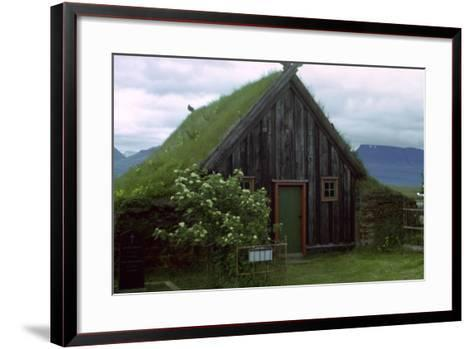 A Turf Church from the 1850S-CM Dixon-Framed Art Print